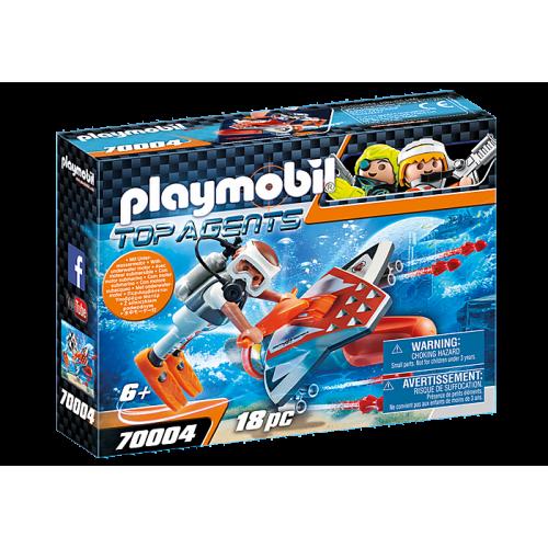 70004 PLAYMOBIL JET Spy Team