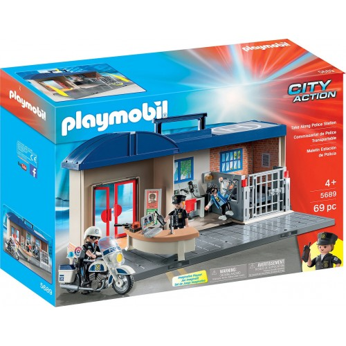 5689 PLAYMOBIL POLICE STATION