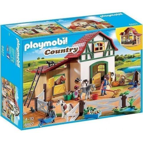 6927 playmobil axyronas me pony