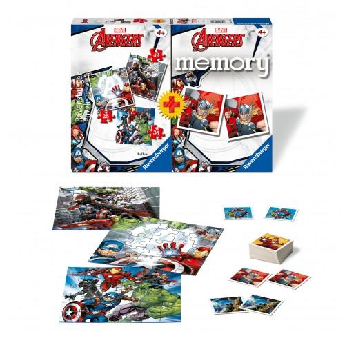 Memory + 3 puzzle Avengers - RAVENSBURGER