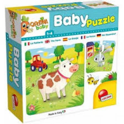 Carotina Baby Puzzle the Farm LISCIANI