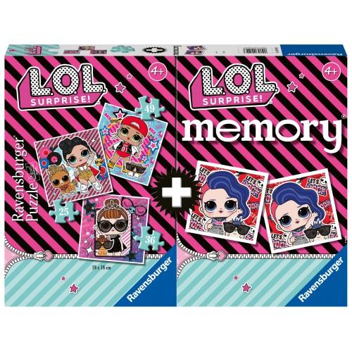 Memory L.O.L. Surprise - RAVENSBURGER