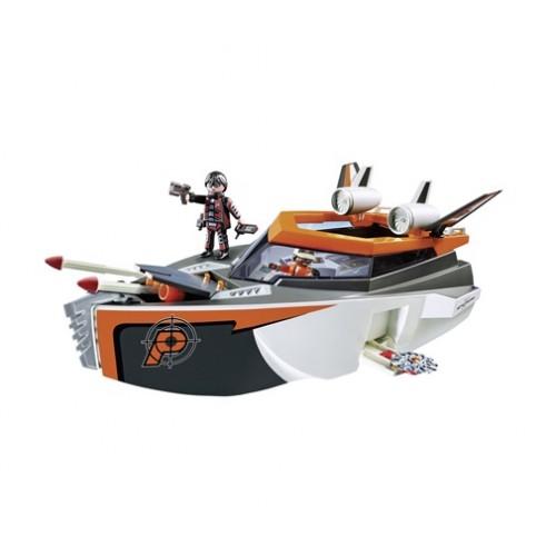 70002 PLAYMOBIL BOAT Spy Team